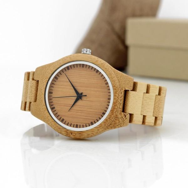 zegarek drewniany na prezent