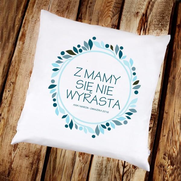 poduszka dla mamy z nadrukiem