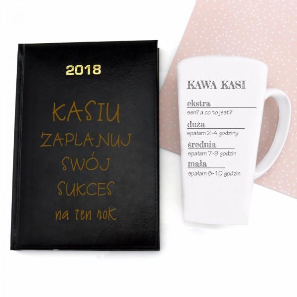 kalendarz 2018 z kubkiem