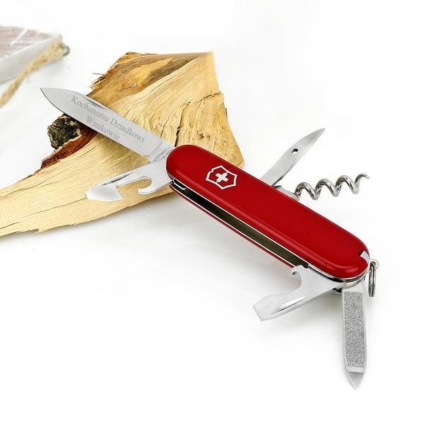 scyzoryk victorinox z grawerem dedykacji - prezent dla dziadka