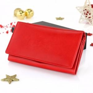 portfel damski z grawerem na prezent na święta