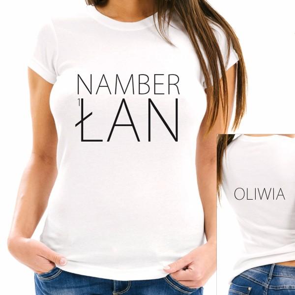 koszulka z imieniem