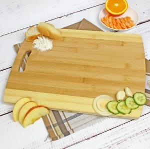 bambusowa deska kuchenna na prezent dla babci