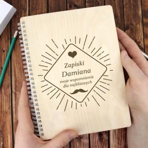 personalizowany notatnik - prezent dla brata