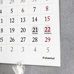 kalendarz ścienny ze zdjęciami - dla dziadka i babci
