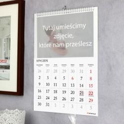 prezent z okazji dnia babci i dziadka - kalendarz z personalizacją
