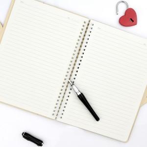 spersonalizowany notes z grawerem - prezent na walentynki