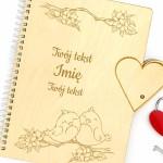notatnik z grawerem imienia i dedykacji