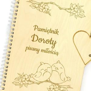 pamiętnik z imieniem dla niej