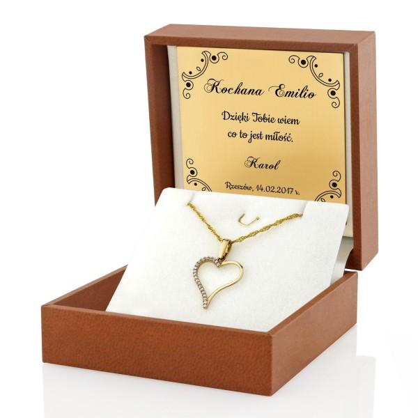 biżuteria na prezent na walentynki