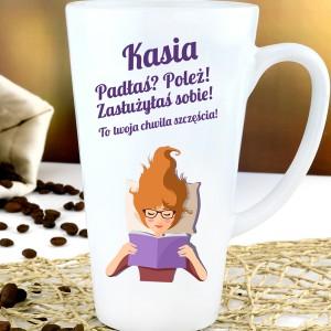kubek latte z imieniem