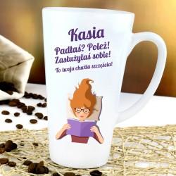 kubek latte z personalizacją + dedykacja