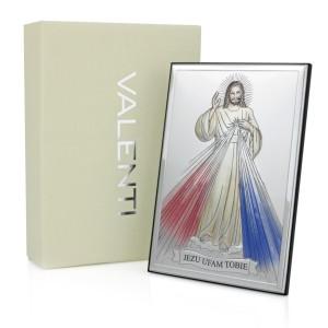 obrazek Jezu Ufam Tobie z personalizacją na prezent