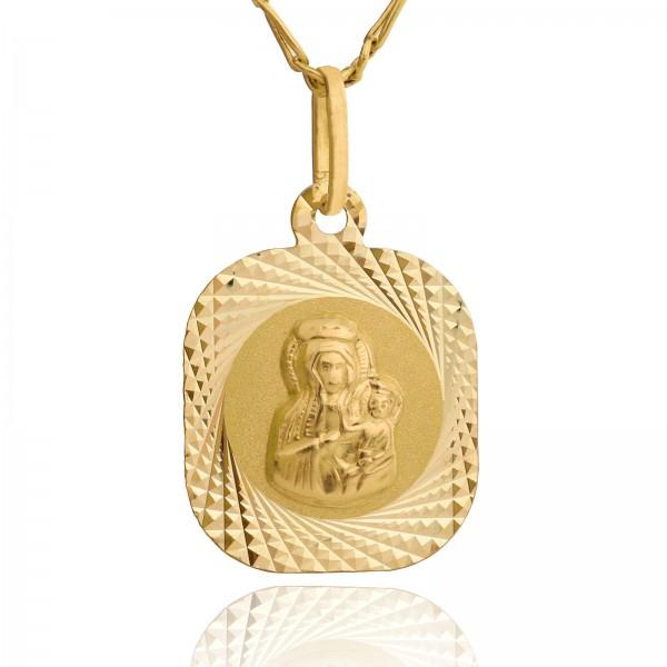 medalik matka boska na prezent