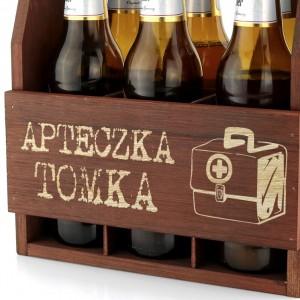 grawerowana dedykacja na skrzynce na piwo