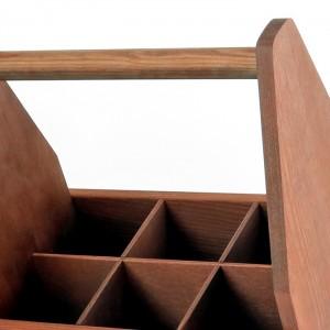 personalizowana drewniana skrzynka na piwo