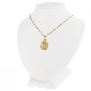 złota biżuteria na prezent z okazji chrztu świetego