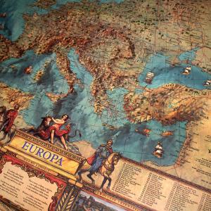 mapa europy z personalizacją