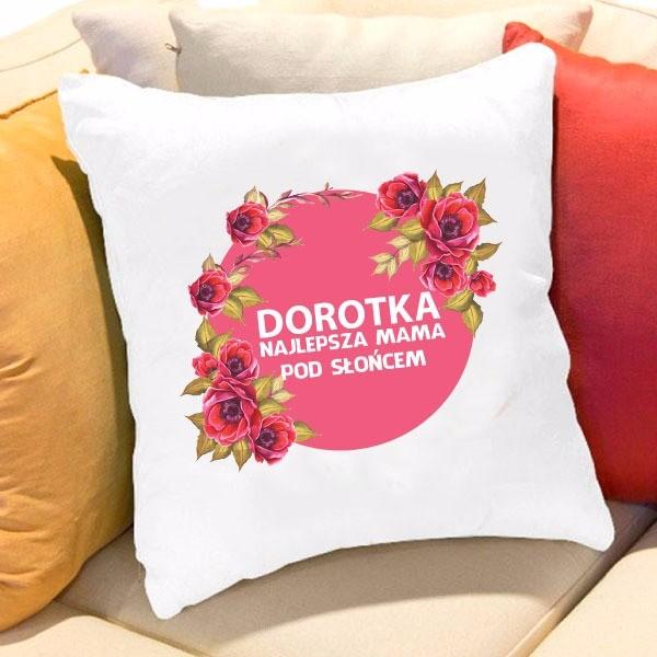 poduszka z nadrukiem dla mamy