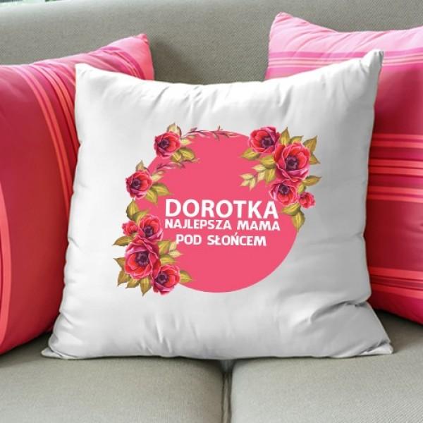 poduszka z nadrukiem dla mamy na upominek