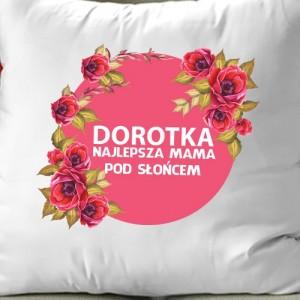 ozdobna poduszka z imieniem mamy