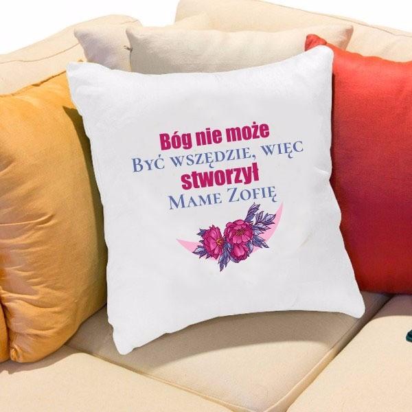 personalizowana poduszka dla mamy