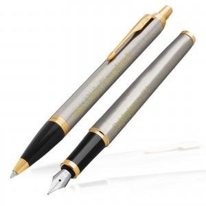 zestaw pióro i długopis z personalizacją na prezent  dla nauczyciela
