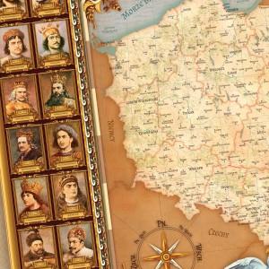 mapa polski z personalizacją dla wychowawcy