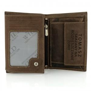 portfel męski skórzany z grawerem
