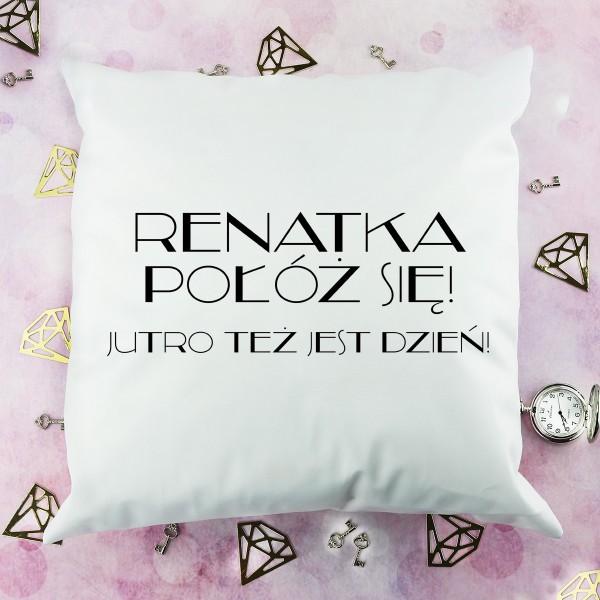 spersonalizowana poduszka na prezent dla dziewczyny
