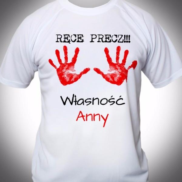 termoaktywna koszulka z personalizacją na prezent dla niego