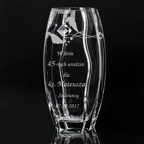 spersonalizowany wazon na urodziny dla księdza