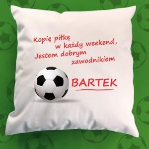 poduszka na prezent dla piłkarza