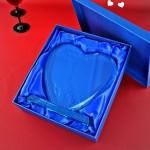 szklane serce z grawerem na prezent dla rodziców