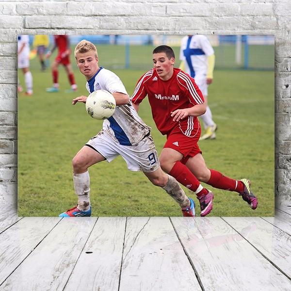 foto-obraz dla piłkarza