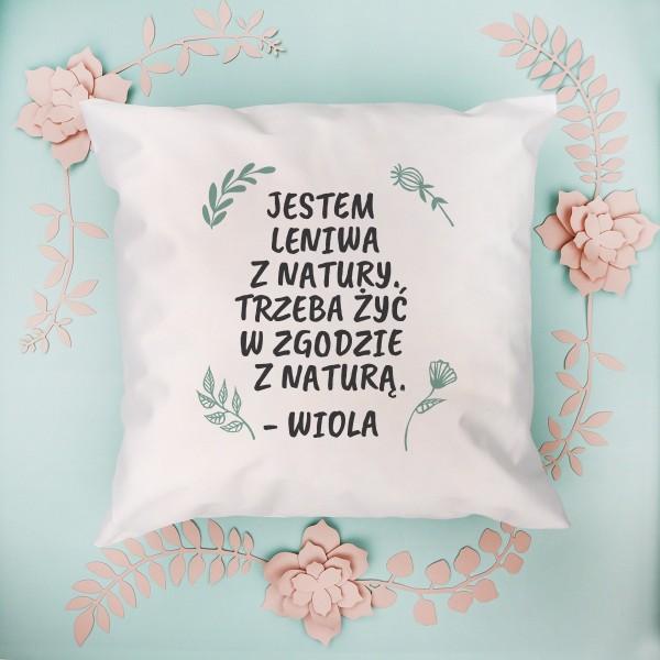poduszka z personalizacją dla niej