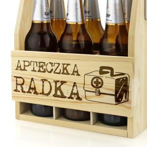 nosidło na piwo grawerowane z imieniem na prezent