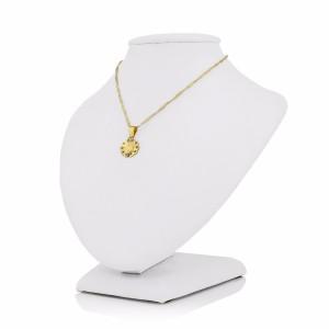 złoty łańcuszek z medalikiem na prezent na komunię