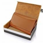 portfel ze skóry z grawerem na urodzinowy prezent dla niej