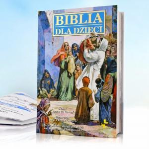 biblia dla dzieci na prezent na chrzest