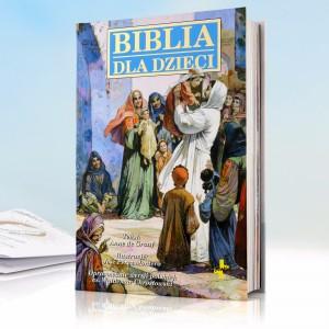 biblia dla dzieci na prezent z okazji komuii