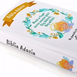 biblia na prezent z okazji chrztu z personalizacją