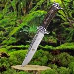 nóż myśliwski z grawerem na prezent dla niego