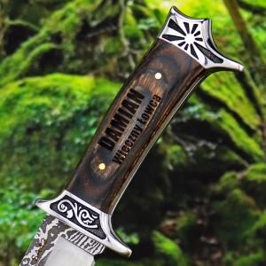 spersonalizowany nóż na prezent z okazji urodzin