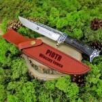 nóż z grawerem na prezent dla myśliwego