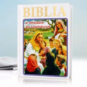 biblia dla najmłodszych z personalizowaną okładką