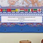 spersonalizowana mapa europy na upominek dla niego