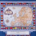 mapa europy na prezent dla niego