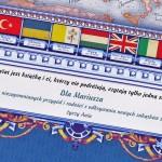 geograficzna mapa europy na prezent dla niego