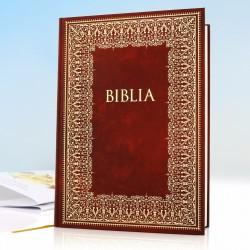 biblia na prezent dla nowożeńców z personalizacją